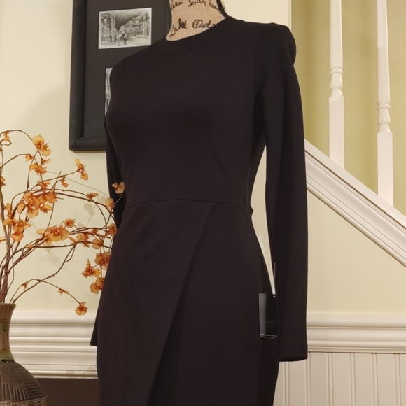 Zara Dresses & Skirts - ZARA | NWT Black Bodycon Midi Dress